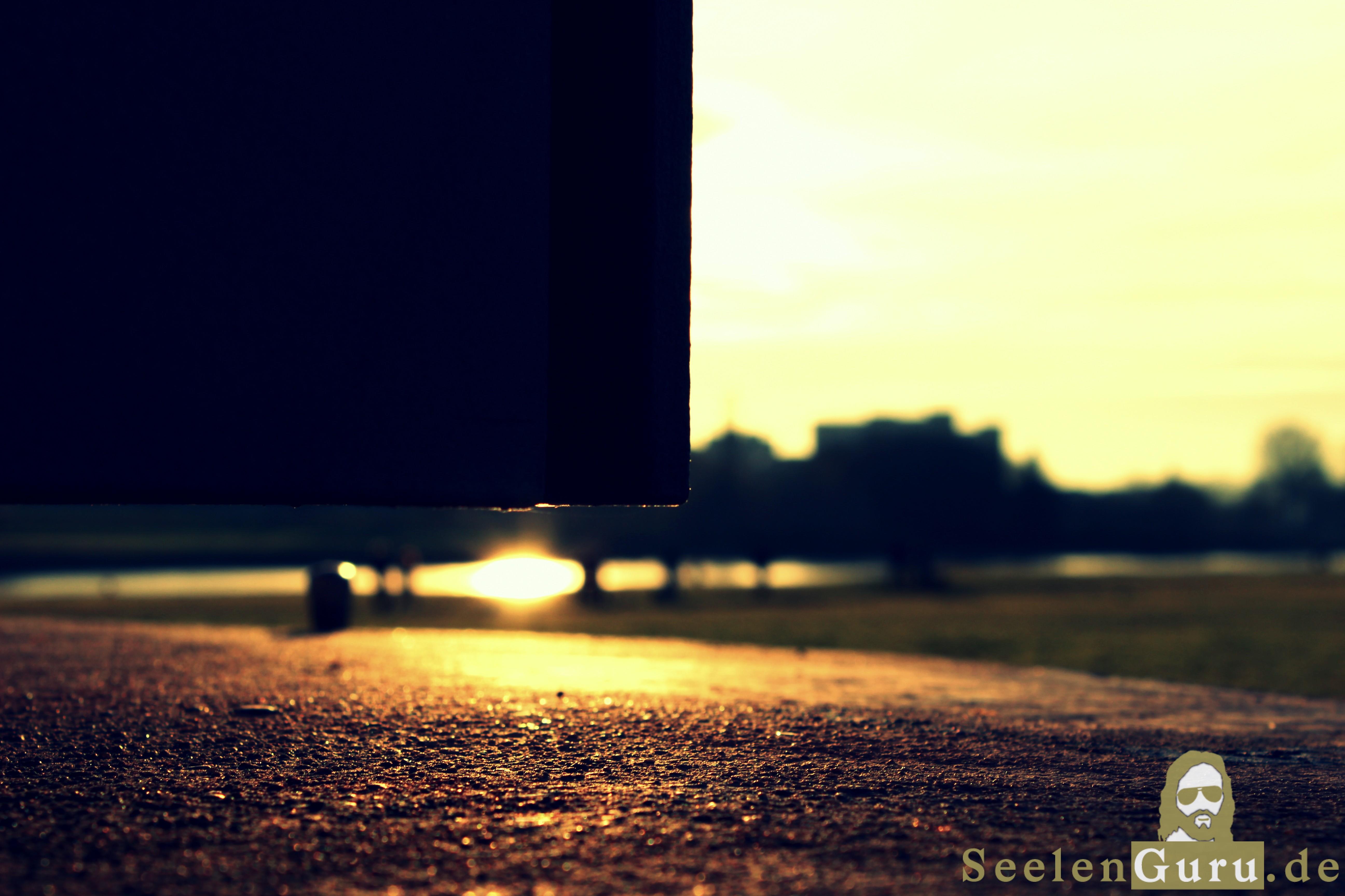 Kunstvoll fotografiert: Spielerei mit der Sonne