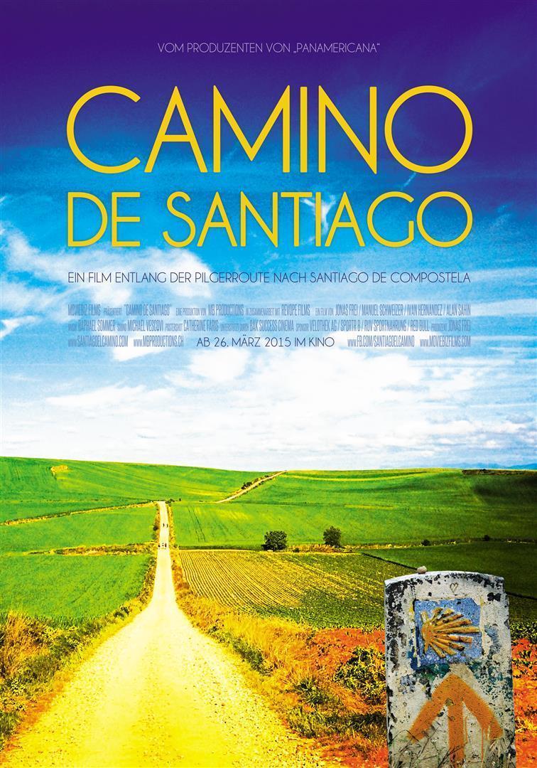 """Plakat von """"Camino de Santiago - Eine Reise auf dem Jakobsweg"""""""