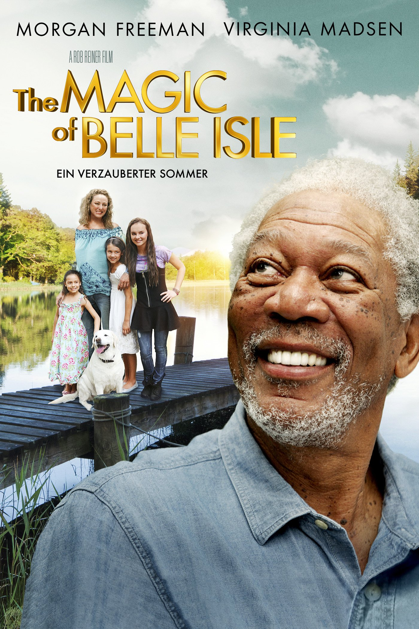 "Plakat von ""The Magic of Belle Isle - Ein verzauberter Sommer"""