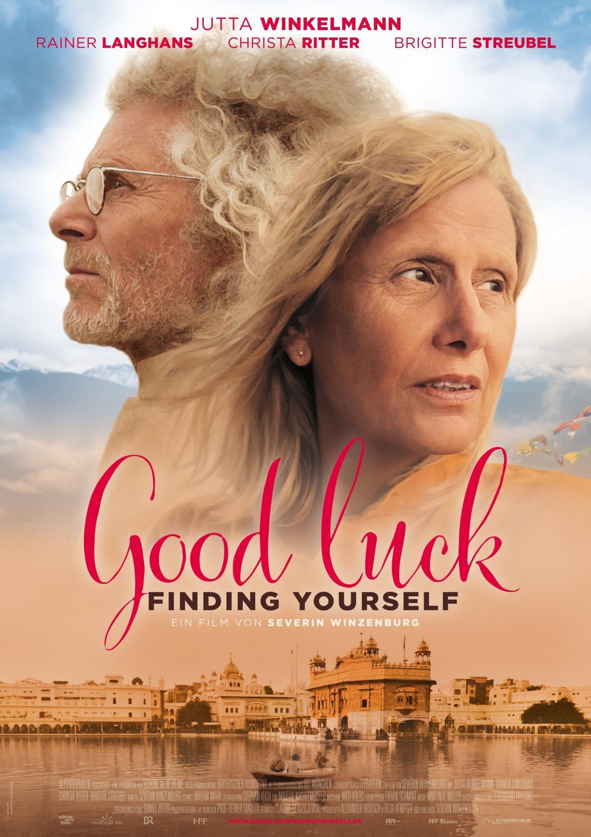 "Plakat von ""Good luck finding yourself"""