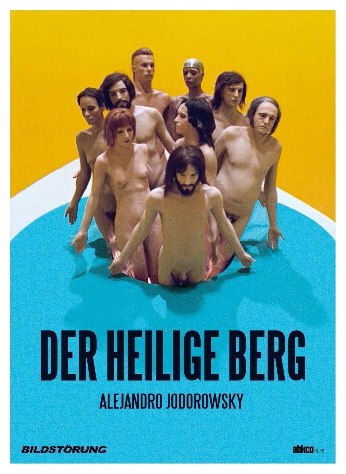 """Plakat von """"Der heilige Berg"""""""