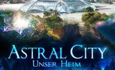 """Plakat von """"Astral City - Unser Heim"""""""