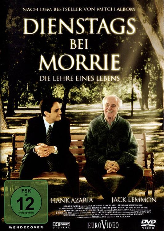 """Plakat von """"Dienstags bei Morrie"""""""