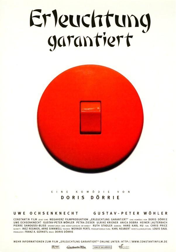 """Plakat von """"Erleuchtung Garantiert"""""""