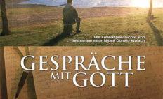 """Plakat von """"Gespräche mit Gott"""""""