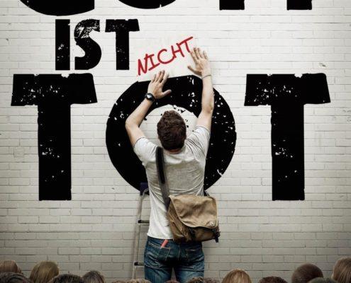 """Plakat von """"Gott ist nicht tot"""""""