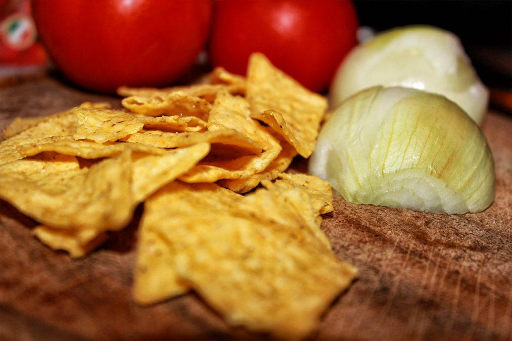 mexikanische tortilla chips pfanne vegan glutenfrei zuckerfrei rezept. Black Bedroom Furniture Sets. Home Design Ideas