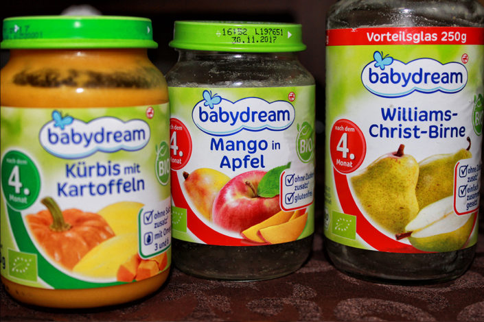 Vegane Babynahrung von Babydream - glutenfrei, und zuckerfrei