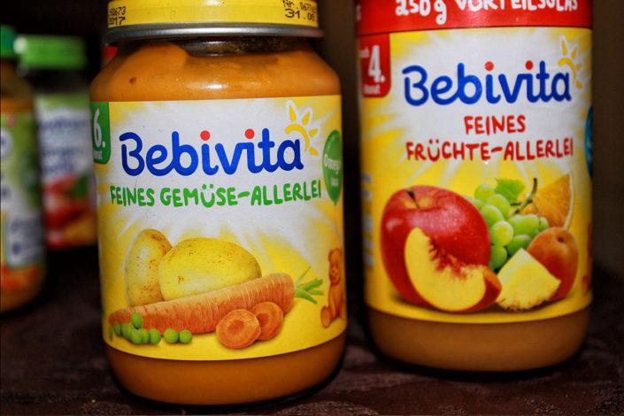 Vegane, glutenfreie und zuckerfreie Babynahrung von Bebivita
