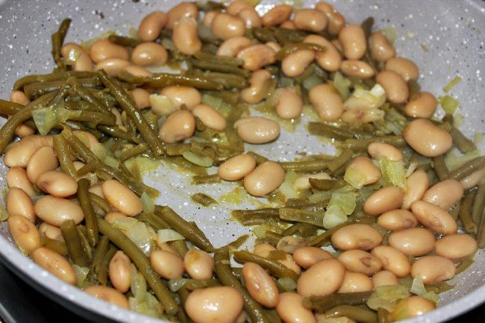 Bohnen-Pfanne (vegan, glutenfrei, zuckerfrei)