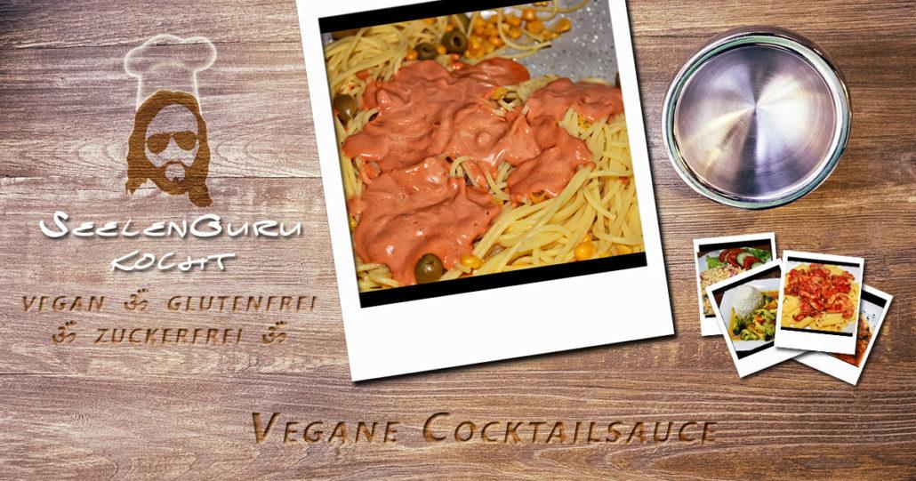 Vegane, glutenfreie & zuckerfreie Cocktailsauce & Burgersauce