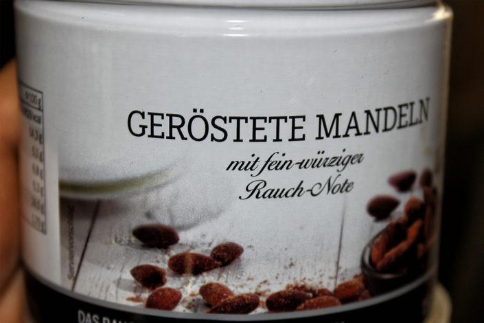 Geroestete Mandeln mit Raucharoma - Deluxe-Wochen im Lidl
