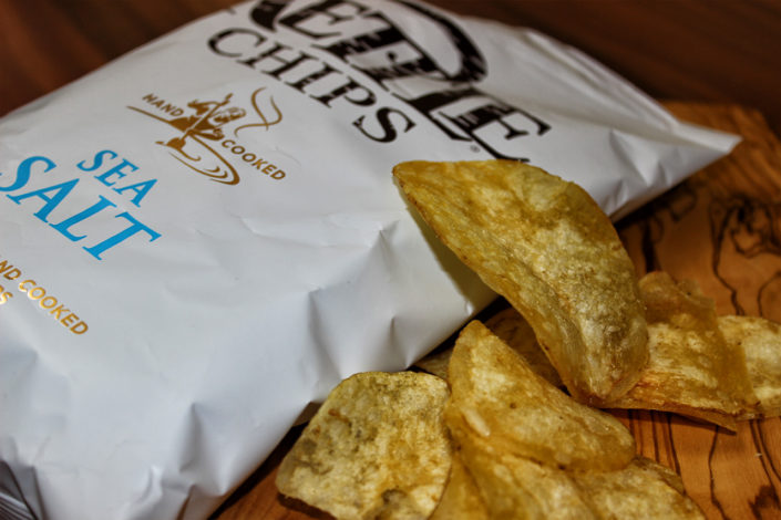 Kettle Chips - zuckerfrei, vegan & glutenfrei