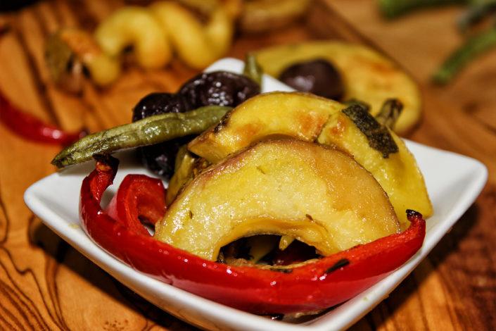 Mediterranes Ofengemüse - Seelenguru kocht vegan, glutenfrei & zuckerfrei