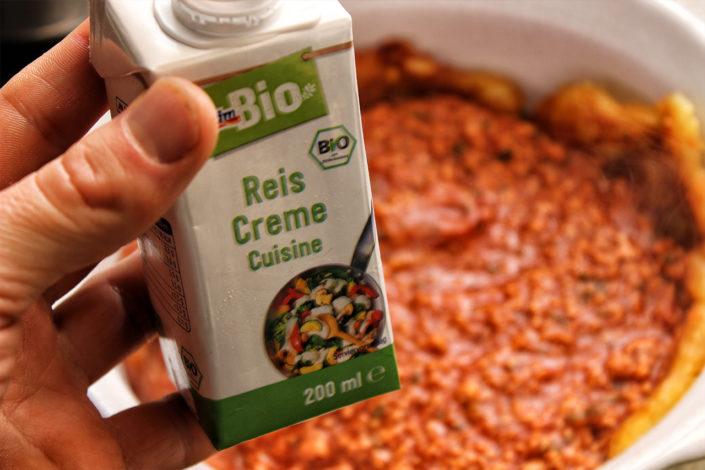 Reis Creme Cuisine aus DM - vegan, glutenfrei und zuckerfrei