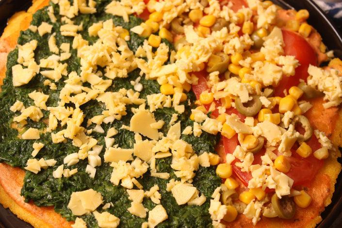 Vegane Pizza - Belag-Ideen - glutenfrei