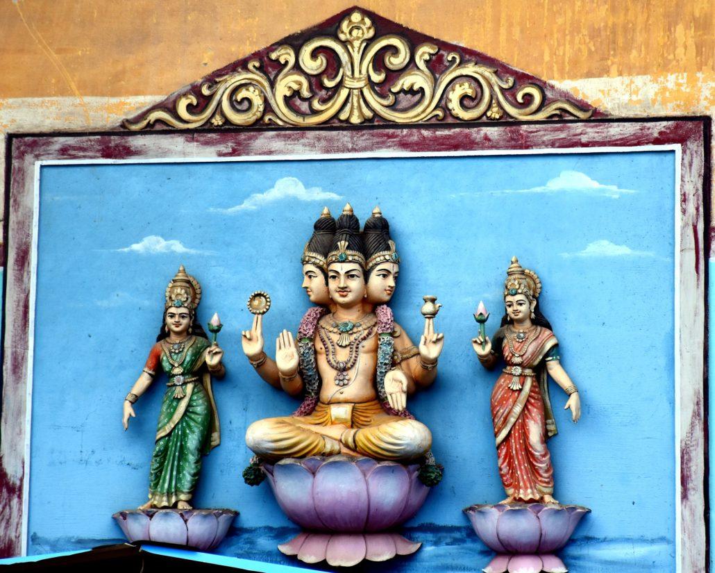 Gott in Hinduismus: Brahma - Schöpfer der Welt