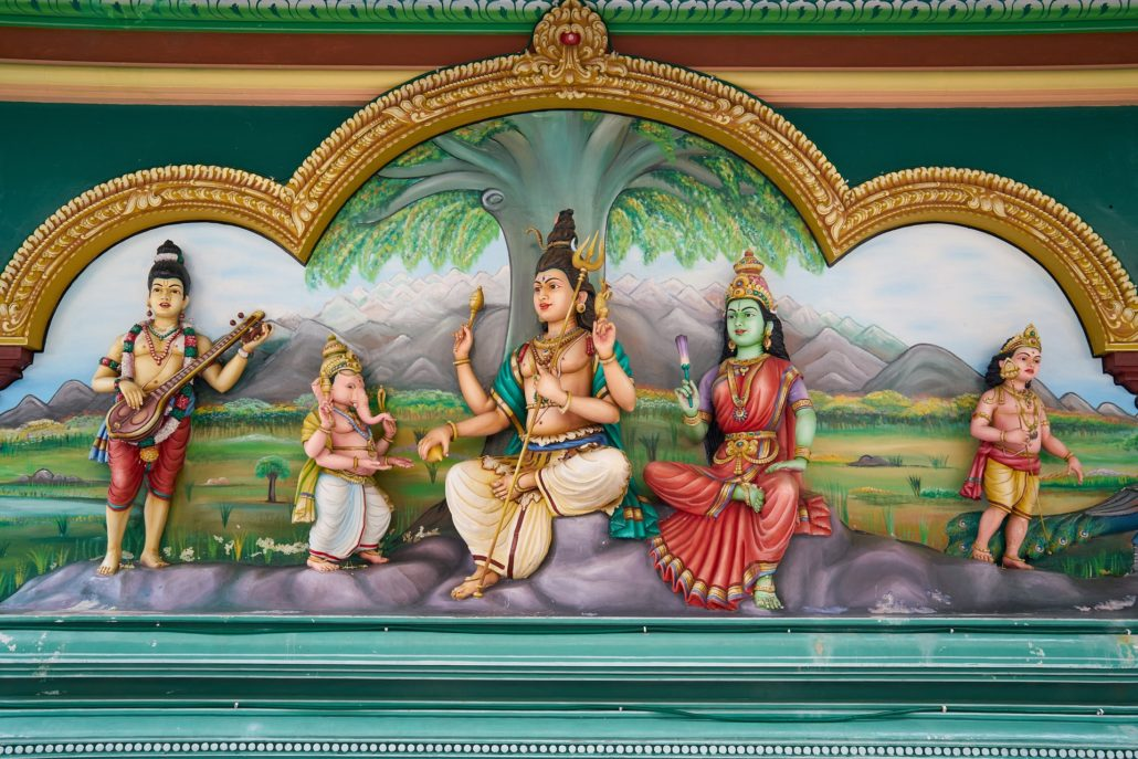 Religion Hinduismus - Bild, Gemälde