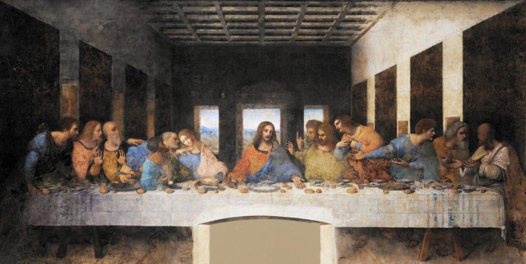Das letzte Abendmahl - Leonardo da Vinci
