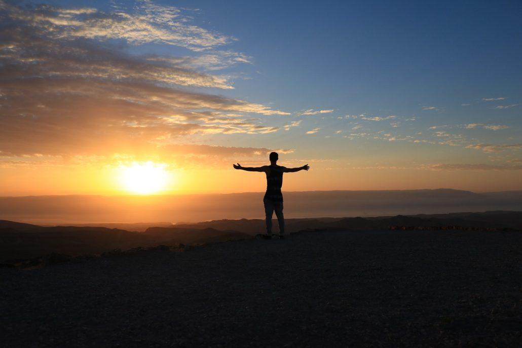 Glück im Inneren suchen